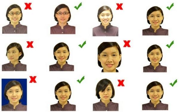 китайская виза требования к фото урале